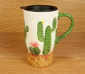Littleton Cactus Travel Mug