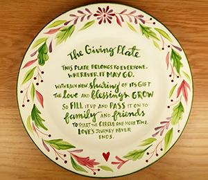 Littleton The Giving Plate