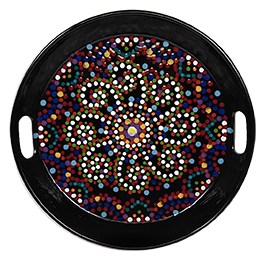 Littleton Mosaic Mandala Tray