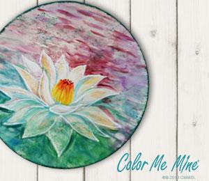 Littleton Lotus Flower Plate